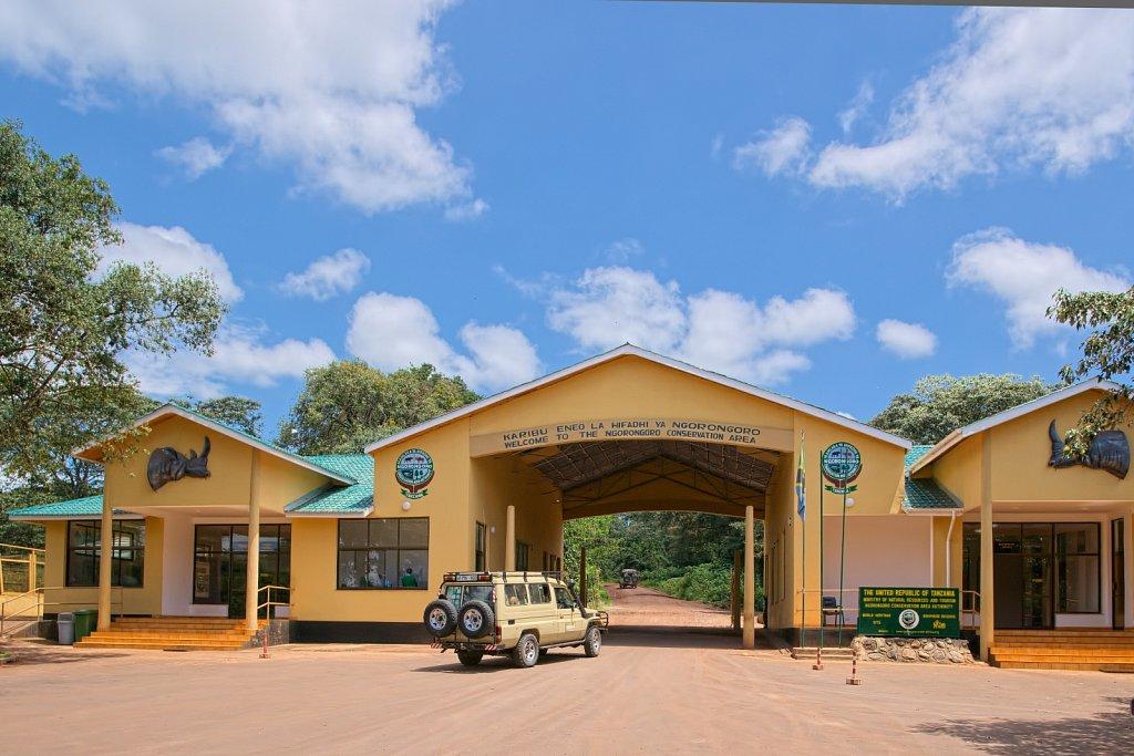 Gate zum Ngorongoro