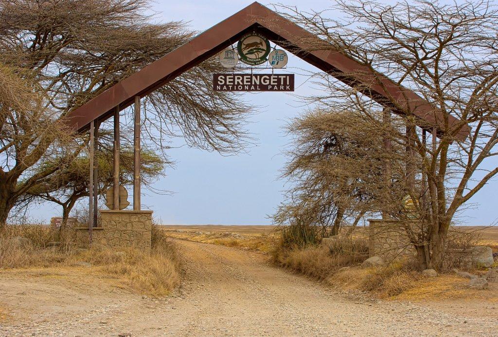 Tor zur Serengeti