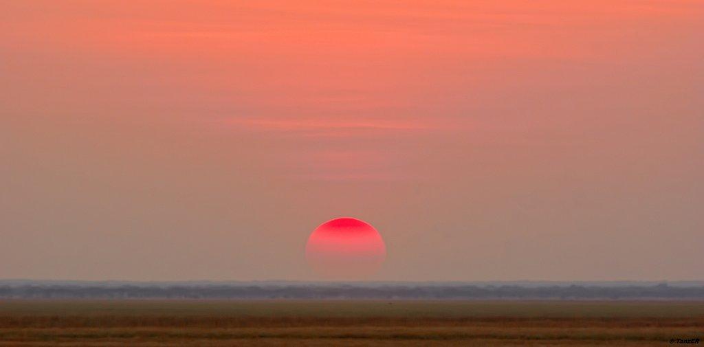 Sonnenuntergang Katisunga Ebene